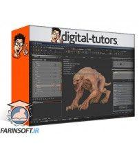آموزش Digital Tutors Texturing VFX Assets in MARI