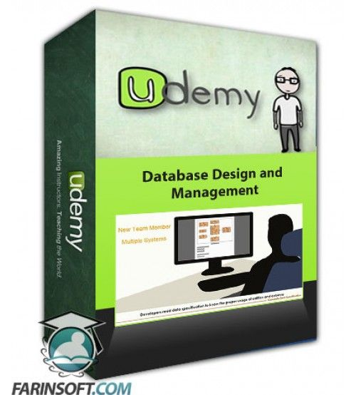 آموزش Udemy Database Design and Management