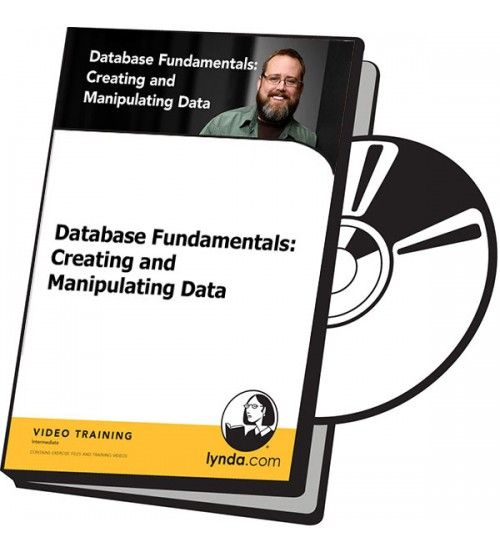 آموزش Lynda Database Fundamentals: Creating and Manipulating Data