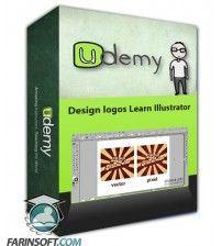 آموزش Udemy Design logos Learn Illustrator