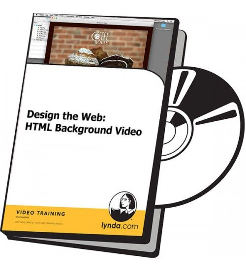 آموزش Lynda Design the Web: HTML Background Video