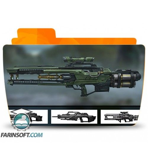 آموزش Digital Tutors Designing Gun Concepts for First Person Shooters in Maya and Photoshop