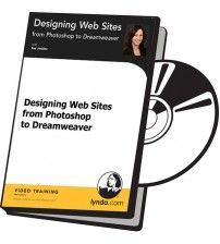 آموزش Lynda Designing Web Sites from Photoshop to Dreamweaver