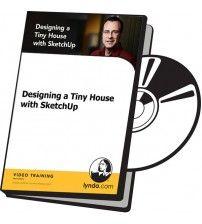 دانلود آموزش Lynda Designing a Tiny House with SketchUp