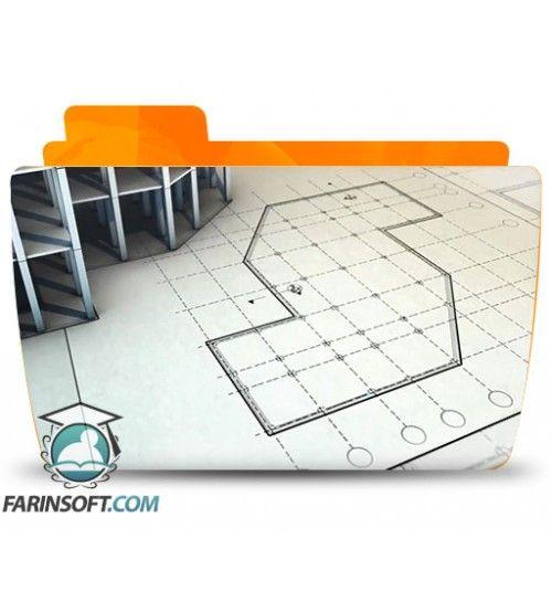 آموزش Digital Tutors Drawing Foundation Plans in AutoCAD