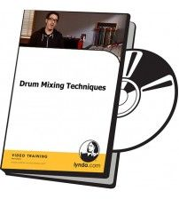 دانلود آموزش Lynda Drum Mixing Techniques