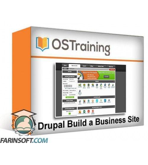 آموزش OS Training Drupal Build a Business Site