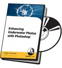 آموزش Lynda Enhancing Underwater Photos with Photoshop