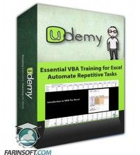 آموزش Udemy Essential VBA Training for Excel – Automate Repetitive Tasks