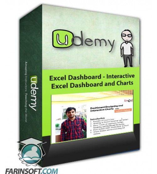 آموزش Udemy Excel Dashboard - Interactive Excel Dashboard and Charts