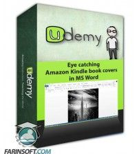 آموزش Udemy Eye catching Amazon Kindle book covers in MS Word