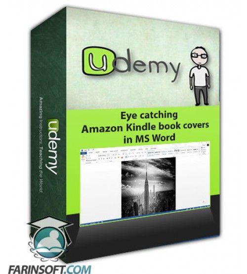 آموزش Udemy Eye catching Amazon Kindle book covers in MS Word