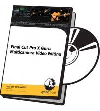 آموزش Lynda Final Cut Pro X Guru: Multicamera Video Editing
