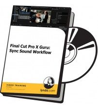 آموزش Lynda Final Cut Pro X Guru: Sync Sound Workflow