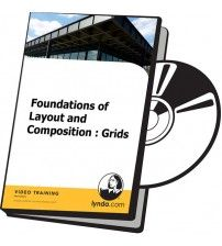 دانلود آموزش Lynda Foundations of Layout and Composition Grids