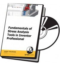 دانلود آموزش Lynda Fundamentals of Stress Analysis Tools in Inventor Professional