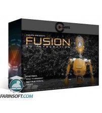 آموزش ترکیب مدل سه بعدی و انیمیشن با فیلم ها بوسیله نرم افزار Fusion