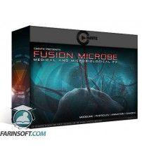 آموزش شبیه سازی سه بعدی ویروس ، میکروب و باکتری ها بوسیله Fusion