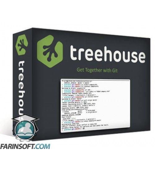 آموزش TeamTreeHouse Get Together with Git