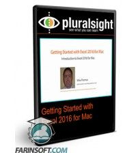آموزش PluralSight Getting Started with Excel 2016 for Mac