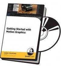آموزش Lynda Getting Started with Motion Graphics