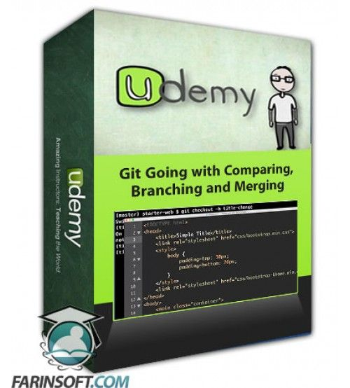 آموزش Udemy Git Going with Comparing, Branching and Merging