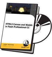 آموزش Lynda HTML5 Canvas and WebGL in Flash Professional CC