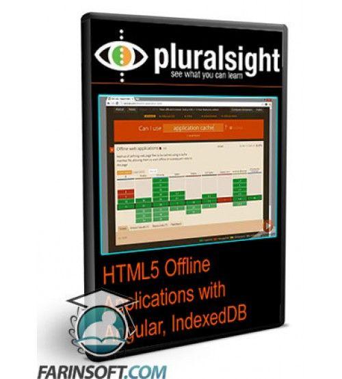آموزش PluralSight HTML5 Offline Applications with Angular, IndexedDB and Bootstrap