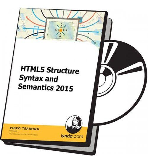 آموزش Lynda HTML5 Structure Syntax and Semantics 2015