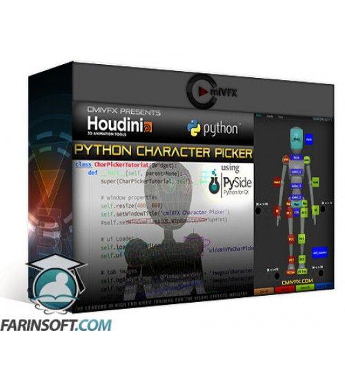 آموزش cmiVFX Houdini Python Character Picker