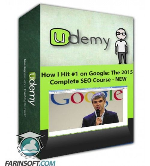 آموزش Udemy (NEW) How I Hit #1 on Google: The 2015 Complete SEO Course