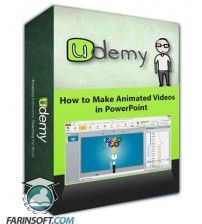 آموزش Udemy How to Make Animated Videos in PowerPoint
