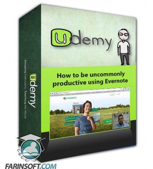 آموزش Udemy How to be uncommonly productive using Evernote