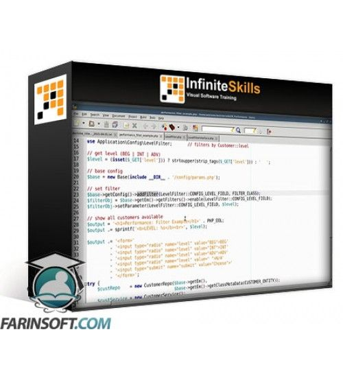 آموزش InfiniteSkills OReilly Learning Doctrine Object Relational Mapping (ORM) and Database Abstraction for PHP