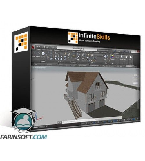 آموزش InfiniteSkills AutoCAD 2016 Beyond the Basics Training Video