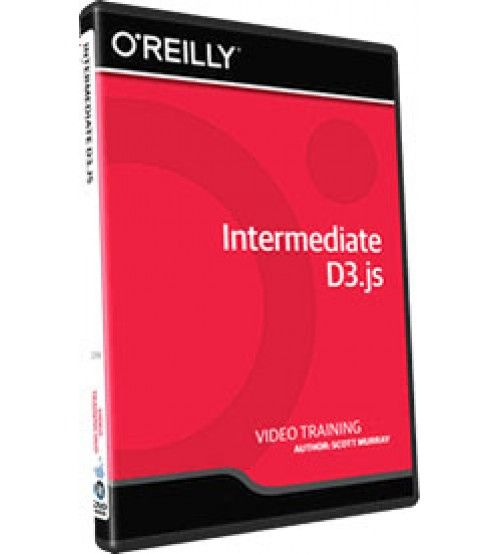 آموزش InfiniteSkills Intermediate D3.js Training Video