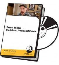 دانلود آموزش Lynda Jason Seiler: Digital and Traditional Painter
