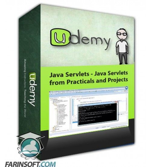 آموزش Udemy Java Servlets - Java Servlets from Practicals and Projects