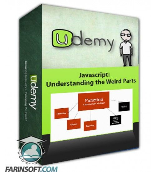 آموزش Udemy Javascript: Understanding the Weird Parts