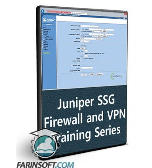 آموزش RouteHub Juniper SSG Firewall and VPN Training Series