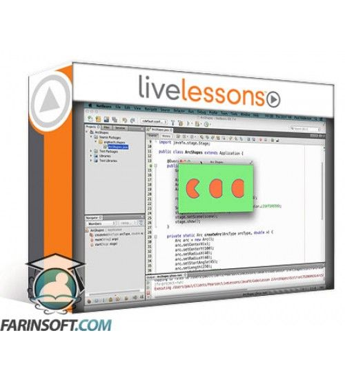 آموزش Live Lessons JavaFX Programming
