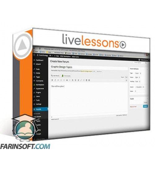 آموزش Live Lessons WordPress for Advanced Users