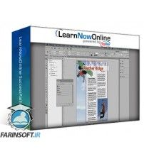 دانلود آموزش LearnNowOnline InDesign CC In-Depth Complete 4 Parts