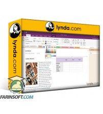 آموزش Lynda Office 365 OneNote Essential Training