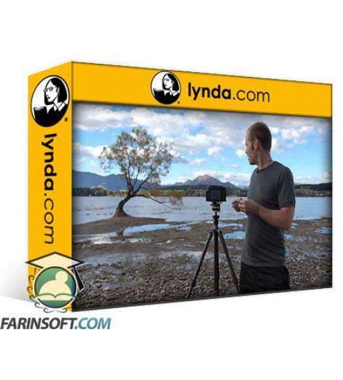 آموزش Lynda Chasing the Light at New Zealands Lake Wanaka