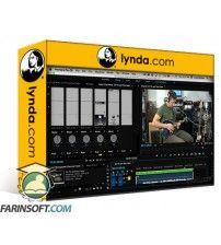 دانلود آموزش Lynda Premiere Pro Guru Mixing Audio Clips and Tracks