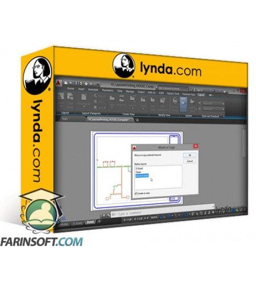 آموزش Lynda AutoCAD Certified Professional Prep Course