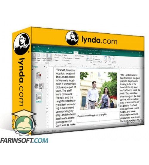 آموزش Lynda Office 365 - Publisher Essential Training