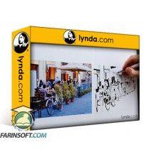 دانلود آموزش Lynda Foundations of Drawing Urban Sketching