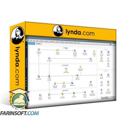 آموزش Lynda QuickBooks Pro 2016 Essential Training